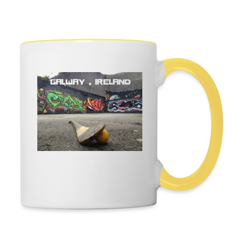 GALWAY IRELAND BARNA - Contrasting Mug