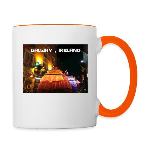 GALWAY IRELAND MACNAS - Contrasting Mug