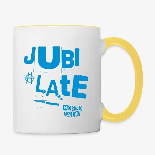 Jubilate-Hoodie - Tasse zweifarbig