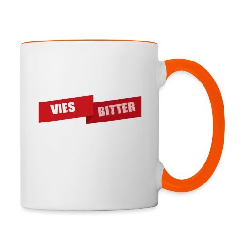 Vies Bitter - Mok tweekleurig