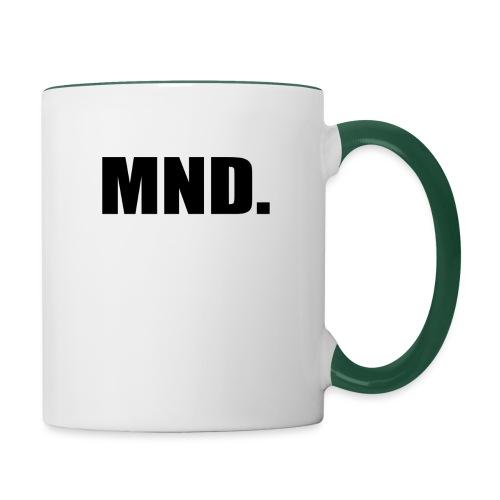 MND. - Mok tweekleurig