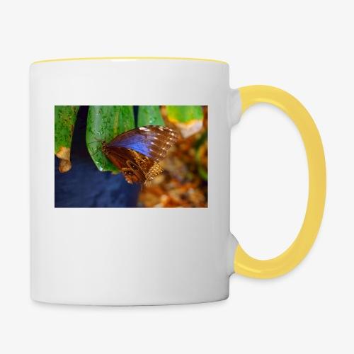 Latvian Butterfly - Contrasting Mug