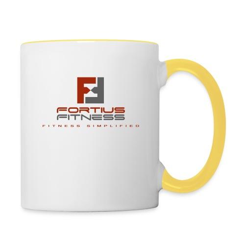 Fortius Fitness - Tofarvet krus
