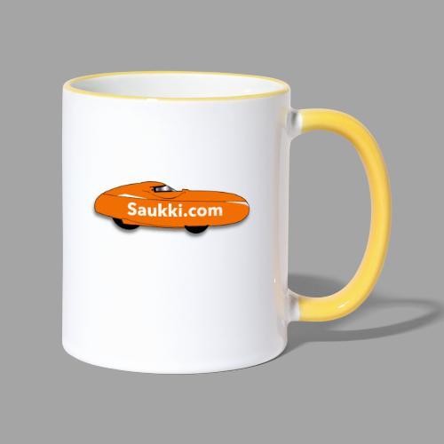 Saukki.com - Kaksivärinen muki