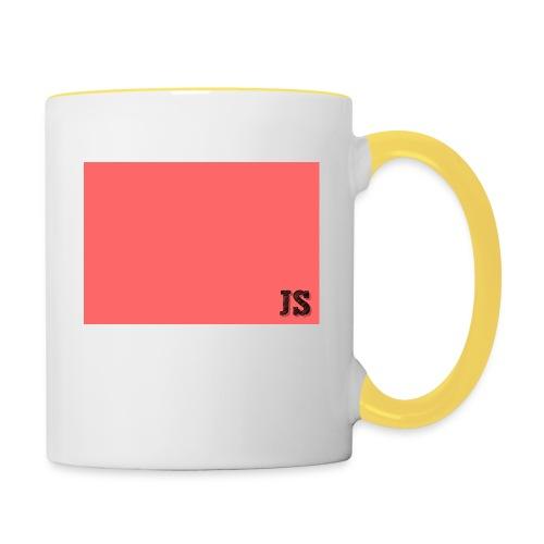 JustSquares Roze - Mok tweekleurig