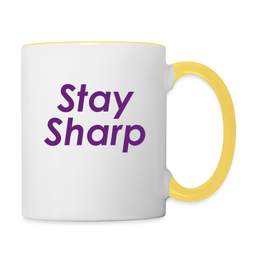 Stay Sharp - Tazze bicolor