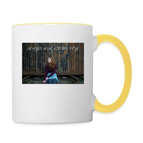 Kayla Anthoney Personal - Tasse zweifarbig