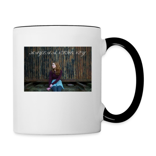 Kayla Anthoney Personal - Tasse zweifarbig