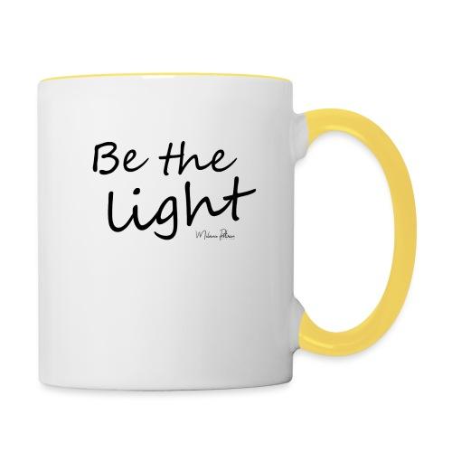 Be the light - Mug contrasté