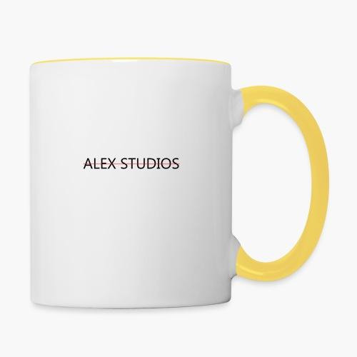 AlexStudios for men - Tasse zweifarbig