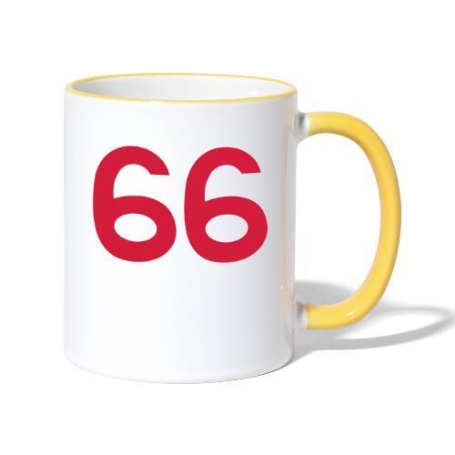 Football 66 - Contrasting Mug