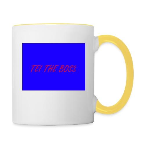 BLUE BOSSES - Contrasting Mug
