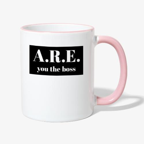 AREyou the boss - Contrasting Mug