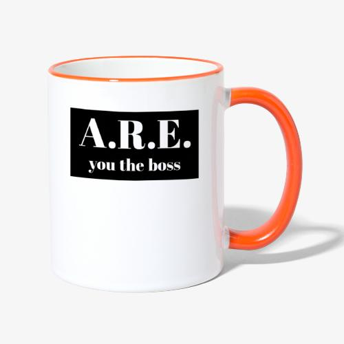 AREyou the boss - Contrasting Mug