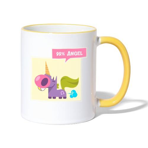 99% Angel - Tvåfärgad mugg