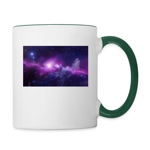 tshirt galaxy - Mug contrasté