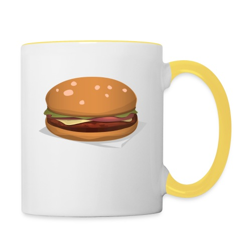 hamburger-576419 - Tazze bicolor