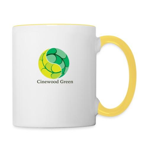 Cinewood Green - Contrasting Mug
