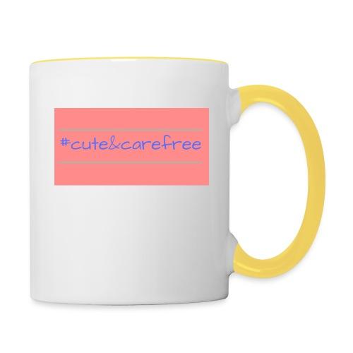 Cute & Carefree - Contrasting Mug