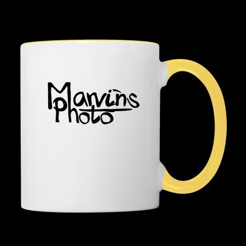 Marvins Photo - Tasse zweifarbig