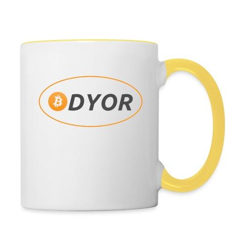 DYOR - option 2 - Contrasting Mug