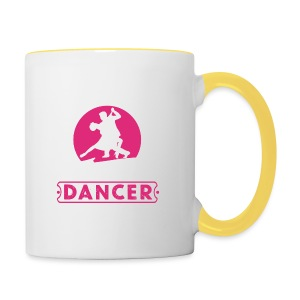 Great to be a Dancer - Tasse zweifarbig