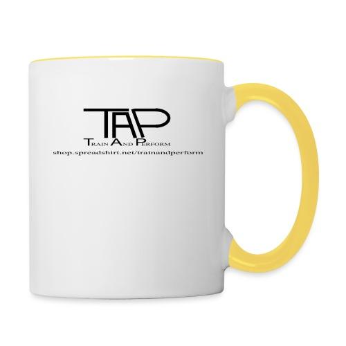 TAPLogoItem black - Contrasting Mug