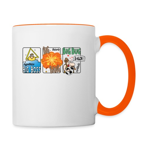 big boss big bang big bug - Mug contrasté