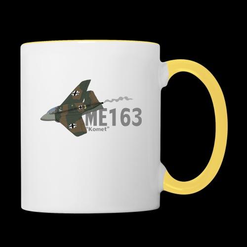 Me 163 Komet (Writing) - Tazze bicolor