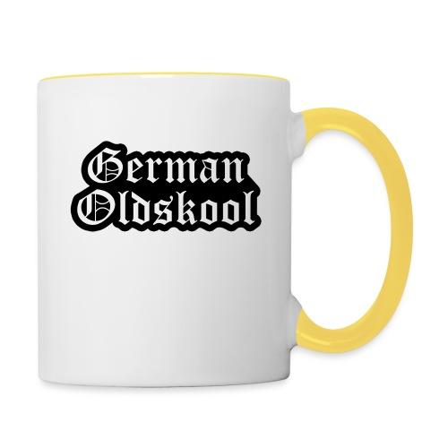 Grand Logo German Oldskool Official - Mug contrasté