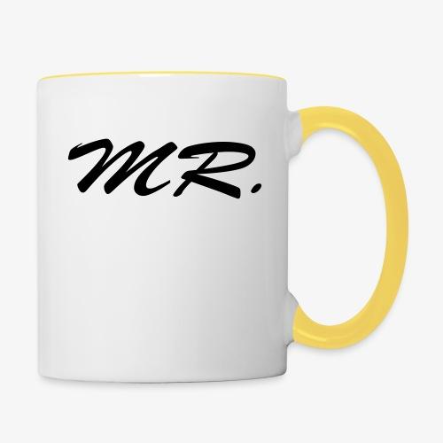 Mr. - Tasse zweifarbig
