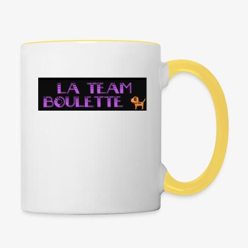 La team boulette - Mug contrasté