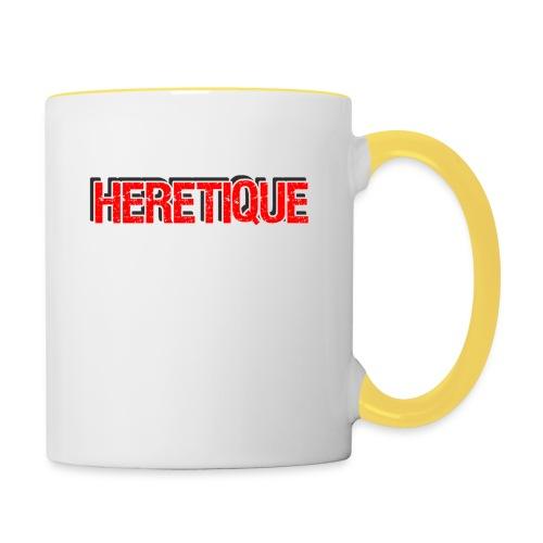 HERETIQUE! - Tasse zweifarbig