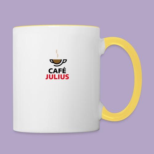 Cafe Julius Tasse - Tasse zweifarbig