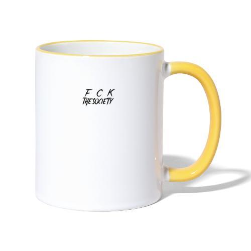 Original Logo - Contrasting Mug