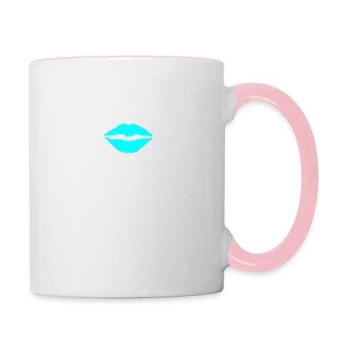Blue kiss - Contrasting Mug