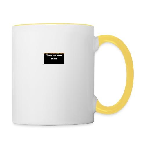 T-shirt staff Delanox - Mug contrasté