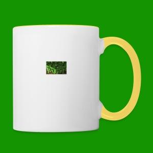 Alpha_Dirt Kissen - Tasse zweifarbig