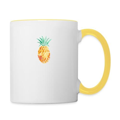 pinety logo print - Tofarvet krus
