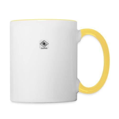 Illusion attire logo - Contrasting Mug