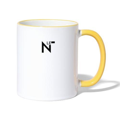 logo le n - Mug contrasté