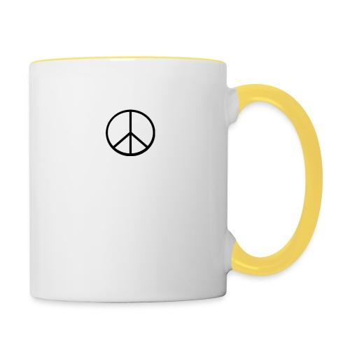 peace - Tvåfärgad mugg