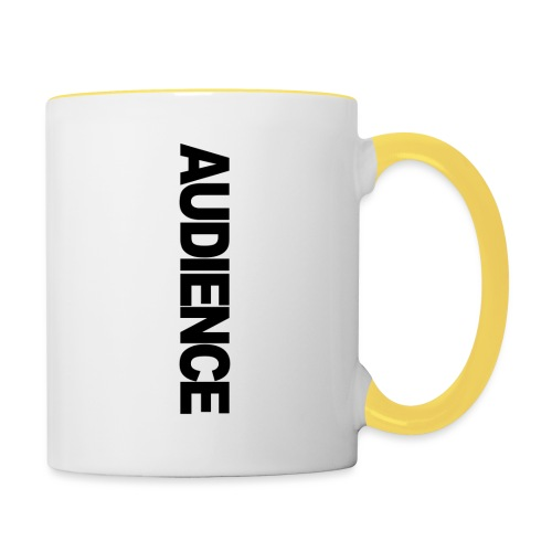 audienceiphonevertical - Contrasting Mug