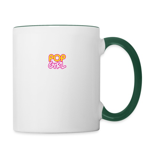 Pop Girl logo - Contrasting Mug