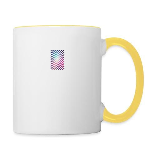 motif coloré - Mug contrasté
