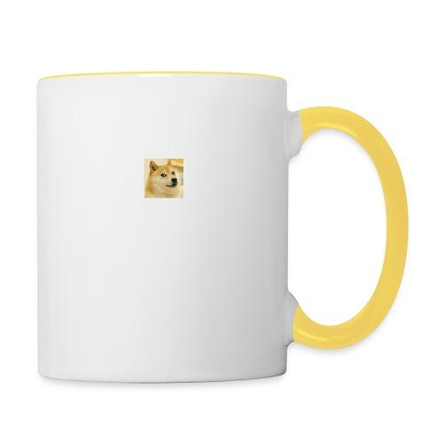 tiny dog - Contrasting Mug