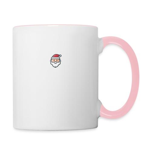 santa - Contrasting Mug