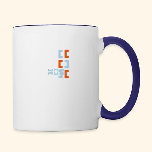 Hoa original logo v2 - Contrasting Mug
