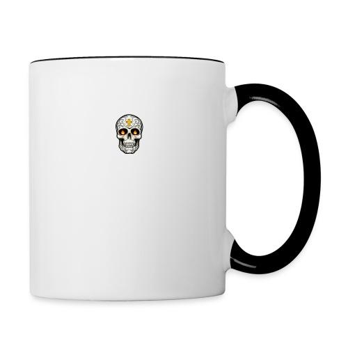 tete de mort - Mug contrasté