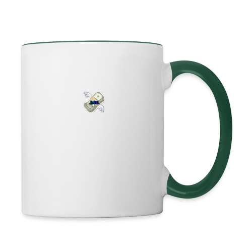 Money is strong - Contrasting Mug